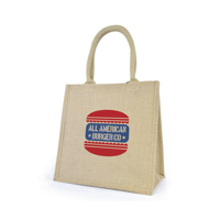 Printed promotional Halton Cotton Shopping Bags