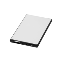 Slim credit card power bank 2000 mAh