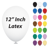 12 Inch Latex Balloons