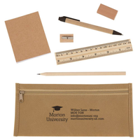 Eco Pencil Case Set
