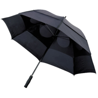 Storm-proof vented umbrella