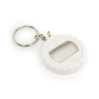 Bottle Lid Opener Plastic Bottle Opener Keyring