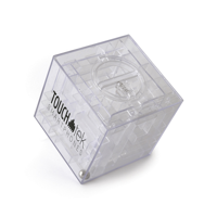 Maze Plastic Cube Shaped Money Box