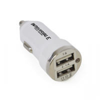 2 Port Adapter In-Car Charger