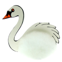Custom Fluffy Swan Bug