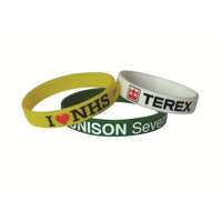 Printed Silicon Wristbands