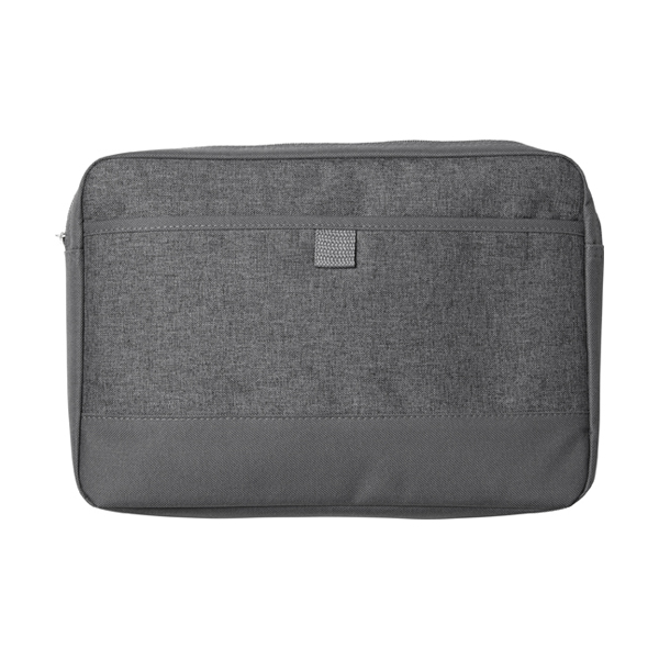 Laptop bag made from 600D polycanvas.