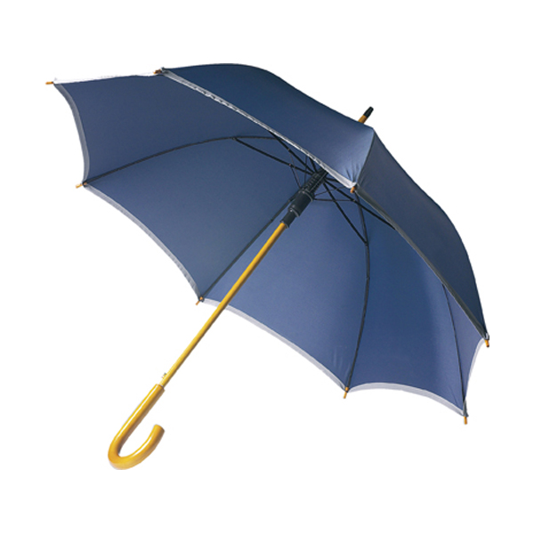 Umbrella with reflective border