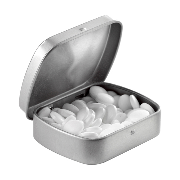 Branded Tin Cases With Mints