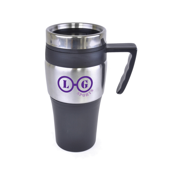 Custom Stainless Steel Double Walled Travel Mugs