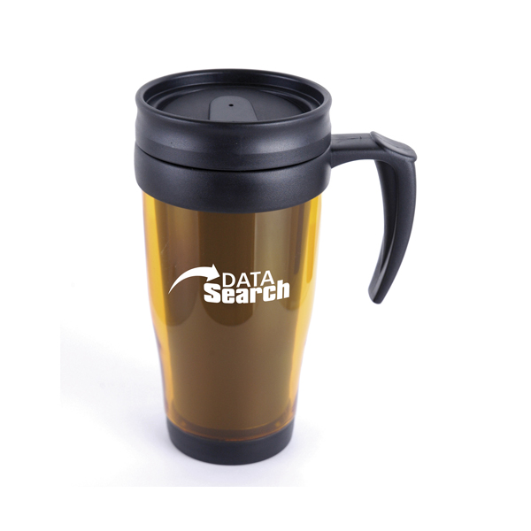 Custom Printed Double Walled Travel Mugs