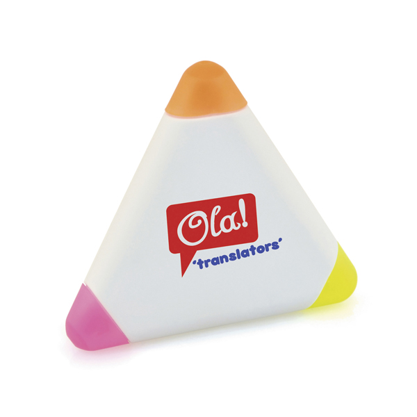 Branded Small Triangle Highlighters