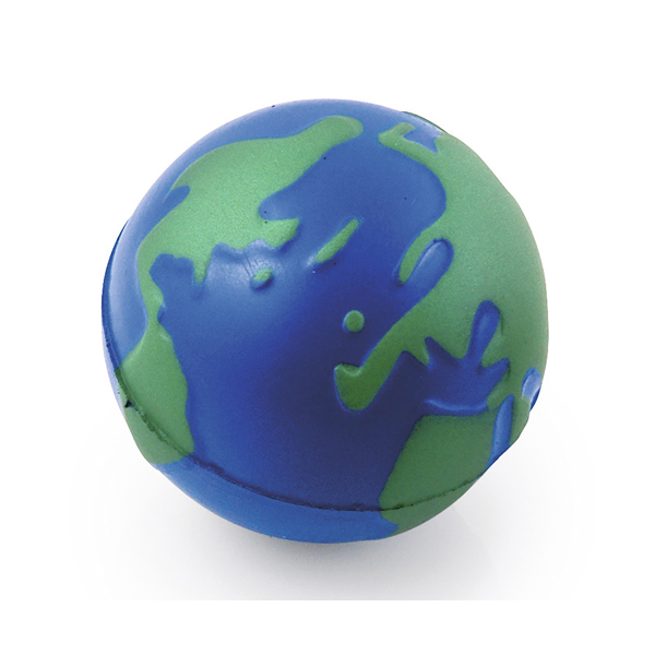 High Quality Globe Shaped Stress Balls
