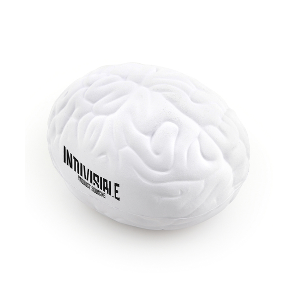 Printed Brain Shaped Stress Toys - A Unique Promotional Gift