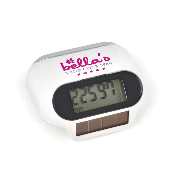 Promotional Mishnock Solar Powered Pedometer
