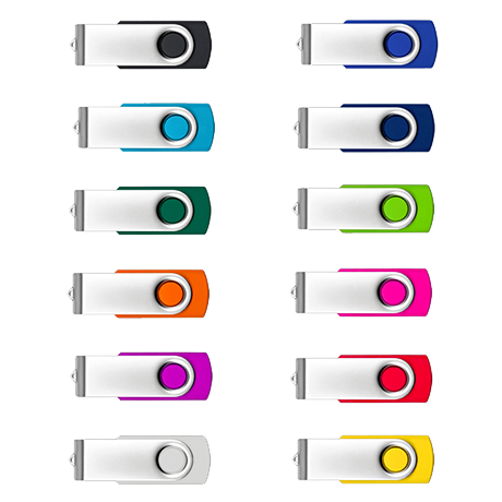 Custom Printed Twister USB Drives