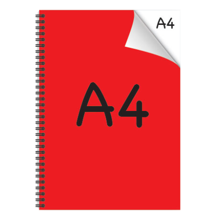 A4 Desk-Mate® with Wire Bound Cover