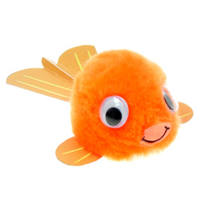 Promotional Message Goldfish Bug