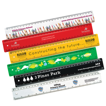 Branded T1/T2 30cm Rulers
